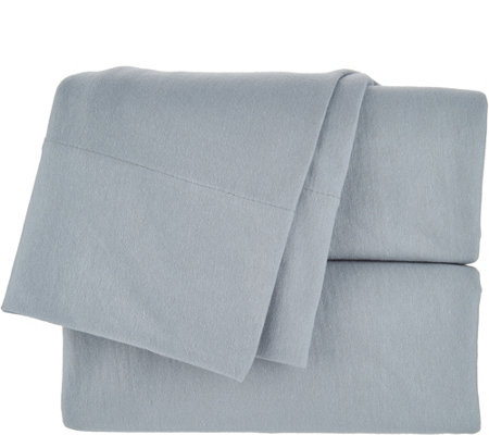 Northern Nights 100% Organic Cotton 175 GSM Jersey Knit FL Sheet Set