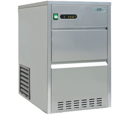 SPT 66-lb Automatic Stainless Steel IceMaker