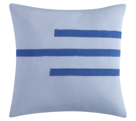 "Vince Camuto Nantucket 16"" Square Decorative Pillow"