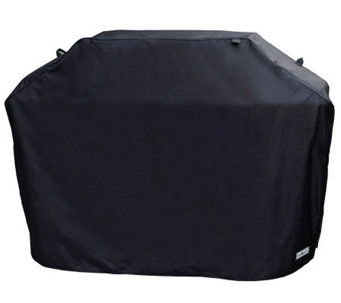 "Sure Fit 60"" Premium Medium Grill Cover - Black - H361046"