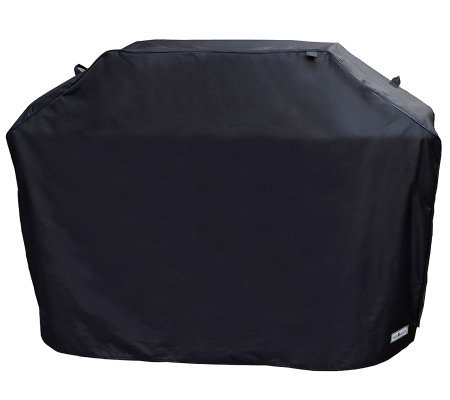 "Sure Fit 60"" Premium Medium Grill Cover - Black"
