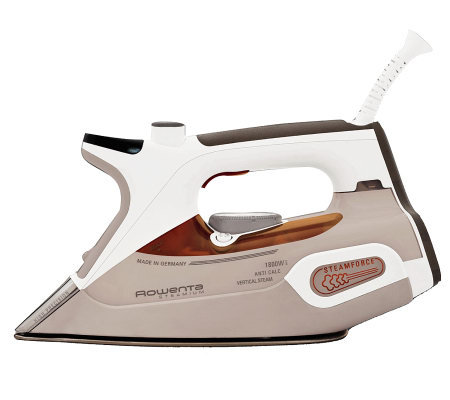 Rowenta DW9080 Steamium Iron - Page 1 — QVC.com