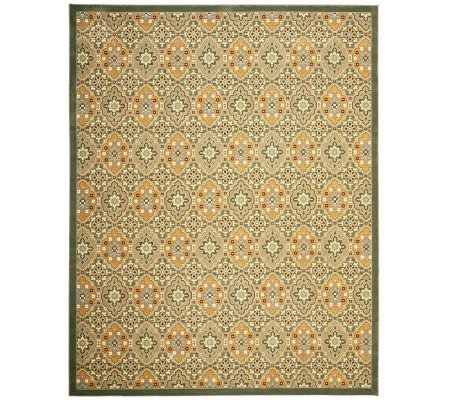 Treasures Medallions Persian Power-Loomed  8' x10' Rug