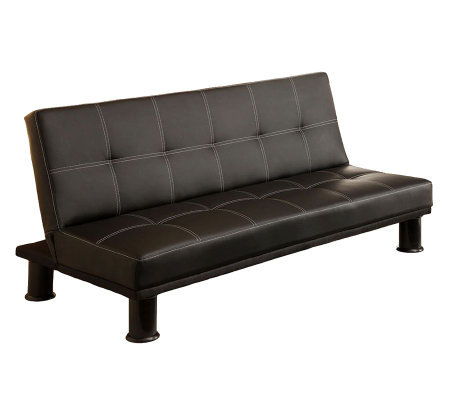Quinn Bonded Leather Futon Sofa