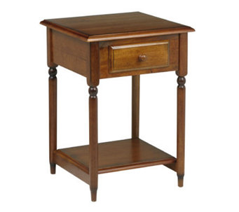 Knob Hill Solid Wood Accent Table by Office Star - H123847