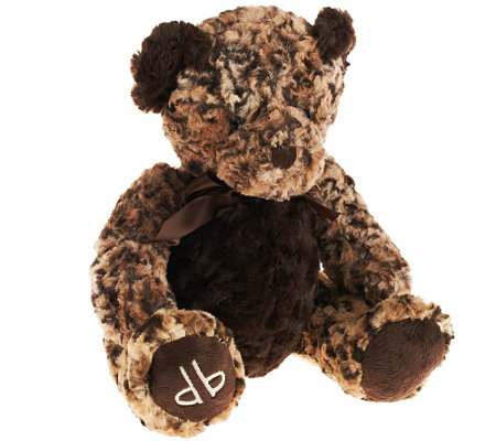"Dennis Basso 'Patch"" Faux Fur Teddy Bear"