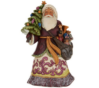 Jim Shore Victorian Christmas Santa Figurine - H209647