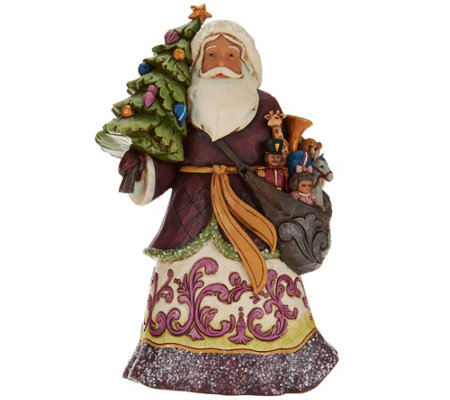 Jim Shore Victorian Christmas Santa Figurine