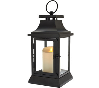 "Ships 1/22/2017 Luminara 12"" Heritage Indoor Outdoor Lantern Candle - H211647"