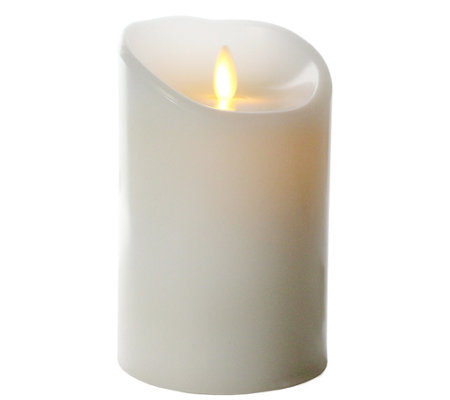 "Luminara 5"" Flameless Unscented Candle with Timer"