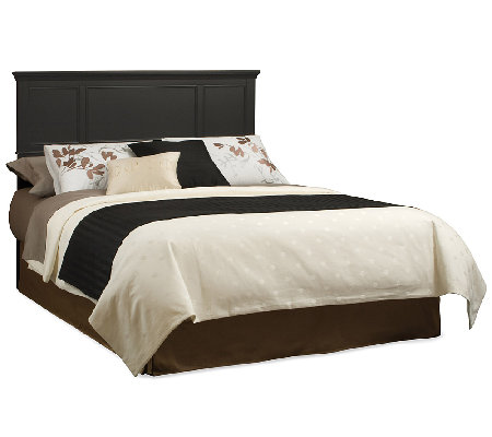 Home Styles Bedford Black King Headboard