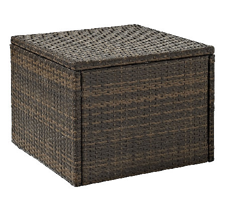 Crosley Palm Harbor Outdoor Wicker Table