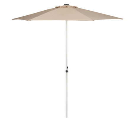 Safavieh Hurst 9' Push-Up Market Umbrella