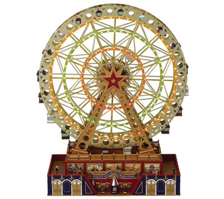 Mr. Christmas World's Fair Grand Ferris Wheel
