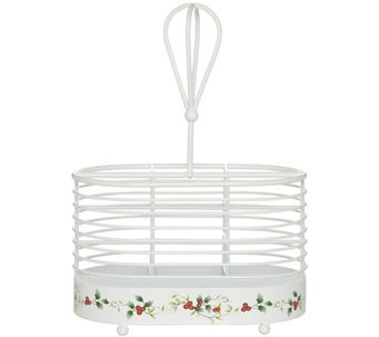 Pfaltzgraff Winterberry Napkin & Flatware Caddy - H289947
