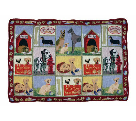 Dog Days 19x27 Tapestry Dog Bed