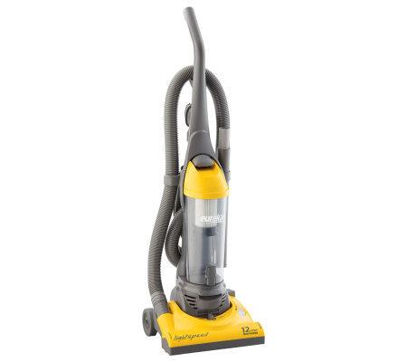 Eureka Light Bagless Upright Vacuum Yellow Gray Page 1