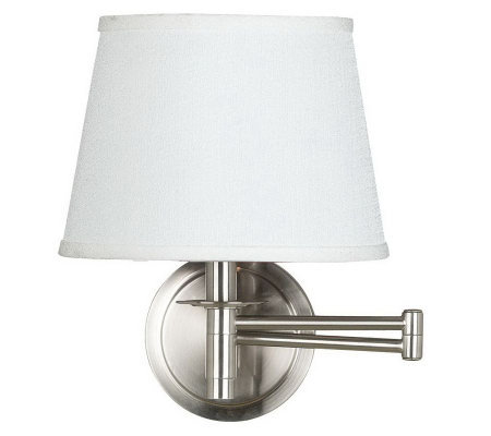 Kenroy Home Sheppard Wall Swing Arm Lamp