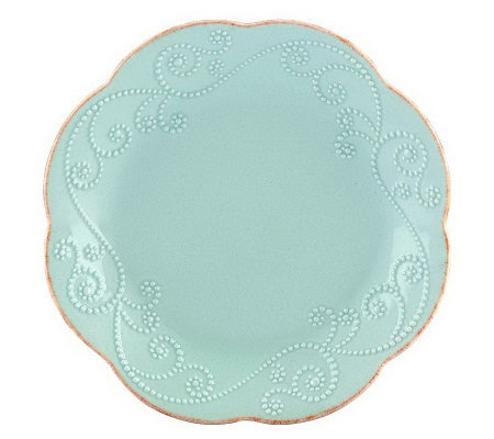 Lenox French Perle Set 4 Dessert Plates
