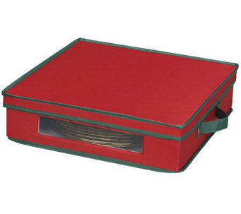 Household Essentials Holiday Charger Plate Chest - H368347