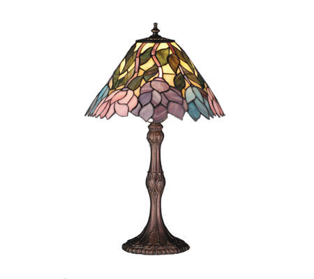 "Tiffany Styled Wisteria Lamp - 21""H"