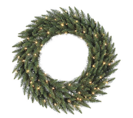 "36"" Camdon Fir Wreath by Vickerman"
