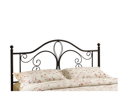 Hillsdale House Milwaukee King Headboard - Antiqued Brown Fin