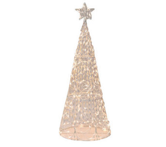 "60"" 3-D Twinkling Tree Sculpture By Brite Star - H169548"