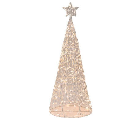 "60"" 3-D Twinkling Tree Sculpture By Brite Star"