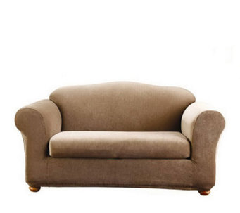 Sure Fit Stretch Stripe 2-Piece Sofa Slipcover - H180748