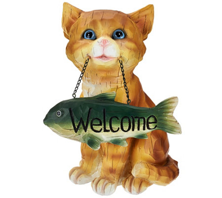 Puppy or Kitten Welcome Sign by Valerie