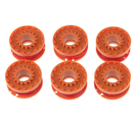 Worx Set of 6 Replacement Spools for Cordless Trimmer/Edger