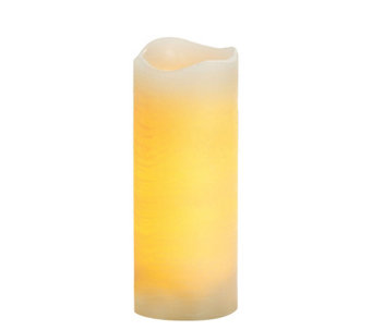 "Candle Impressions 8"" Rustic Melted Top Flameless Candle - H284648"