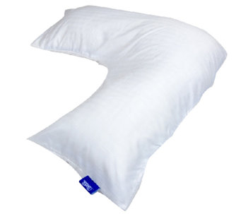 Contour L-Shaped Body Support Pillow w/ Case - H285648