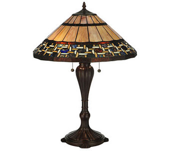 "Tiffany Style 25""H Ilona Table Lamp - H355948"