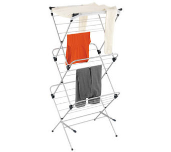 Honey-Can-Do 3-Tier Mesh Top Drying Rack - H356548