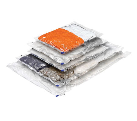 Honey-Can-Do Set of 5 Combo Set Vacuum Packs