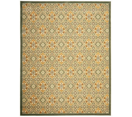 "Treasures Medallions Persian Power-Loomed  8'9""x 12' Rug"