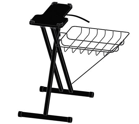"Steamfast 24"" EZ Stand - Black"