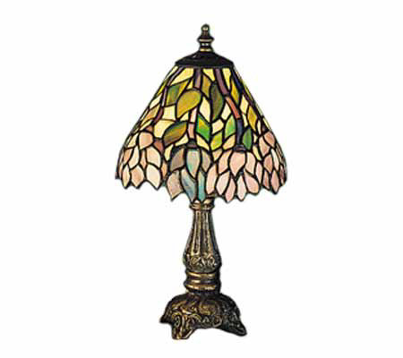 "Tiffany Styled 13""H Wisteria Lamp"