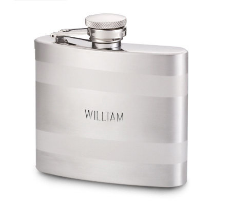 Things Remembered Personalized Two-Tone BandedFlask