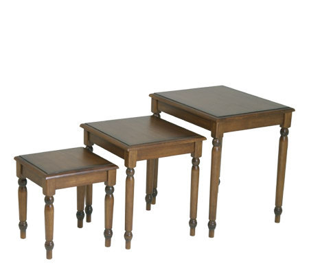 Knob Hill 3 pc Nesting Table Set by Office Star
