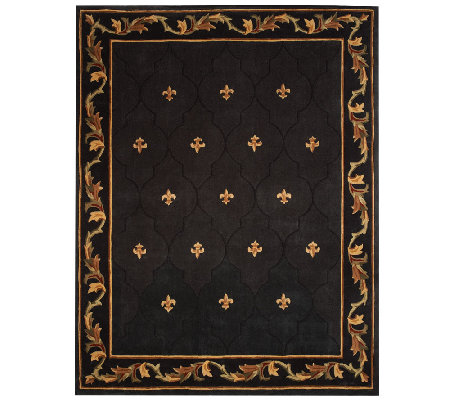 Royal Palace Special Edition Fleur De Lis 7' x 9' Wool Rug