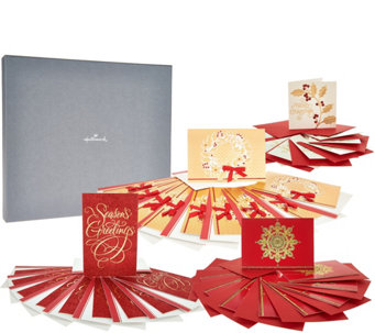 Hallmark 40-Piece Deluxe Holiday Boxed Greeting Card Set - H208749