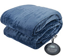 Sunbeam Velvet Plush Full Heated Blanket - H209549