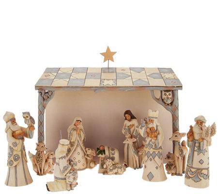 Jim Shore Christmas Nativity Sets