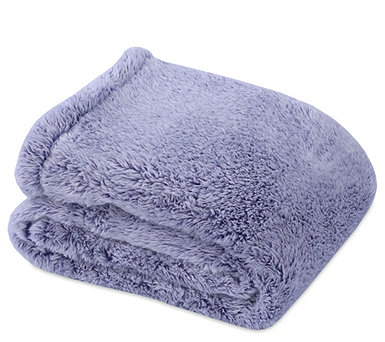 "Berkshire Blanket 60"" x 80"" Frosted Tipped Fluffie Throw - H212249"