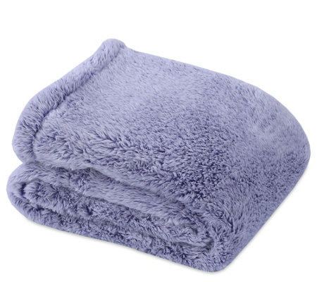 "Berkshire Blanket 60"" x 80"" Frosted Tipped Fluffie Throw"