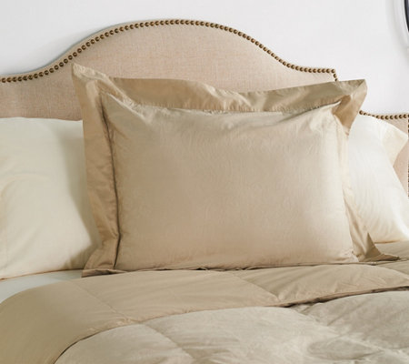 Amadeus 100% Cotton Woven Jacquard King Pillow Sham