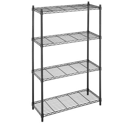 Whitmor Supreme 4-Tier Shelving Unit